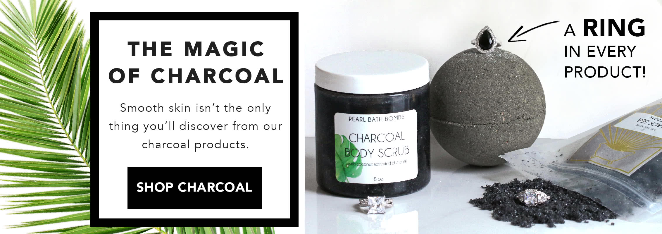 Activated Charcoal Bath Products, Bath Bombs, Scrubs and Soaks